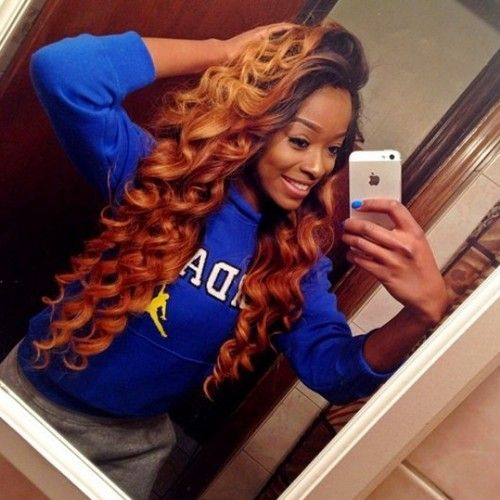 187 best hair weave images on pinterest hairstyles black and braids love the curl and the hair color pmusecretfo Choice Image
