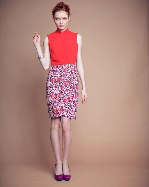 Cheongsam Style Two Piece Fashion 2013 Pinterest Cheongsam Clothes And Fancy