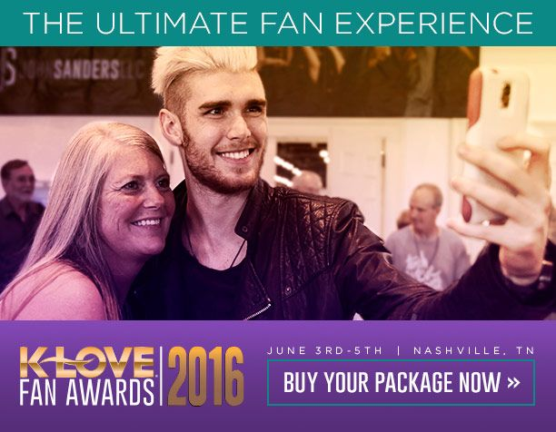 Do you want to attend the 2016 K-LOVE Fan Awards? You can! Get all the details here: http://klove.cta.gs/11k