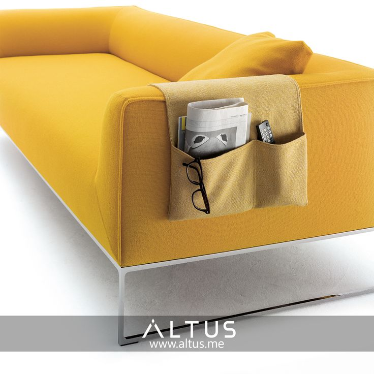 Bag by Cor will make sure your sofa stays clutter-free! www.Altus.me #Furniture #luxury #Design #InteriorDesign #Interiors #Home