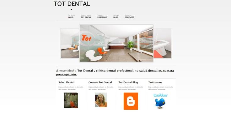 Todo lo que la odontología ofrece TotDental lo pone a tu alcance.