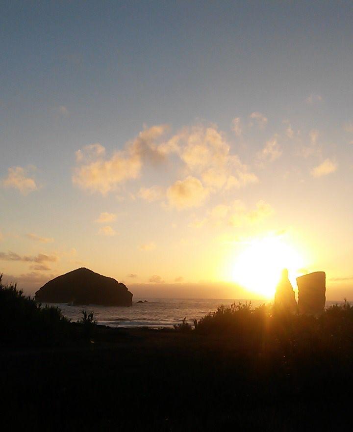 #VisitPortugal #TravelToAzores #Azores #Mosteiros' #Sunset #SaoMiguel