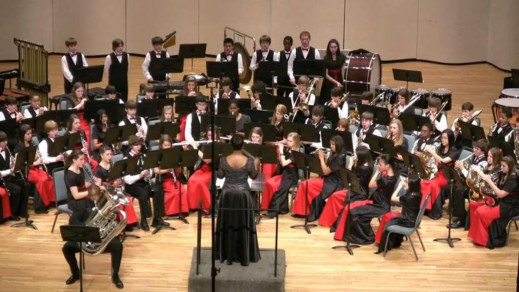 """""""The Old Grumbly Bear"""" - Hopewell Middle School Symphonic Band - GMEA 1/..."""