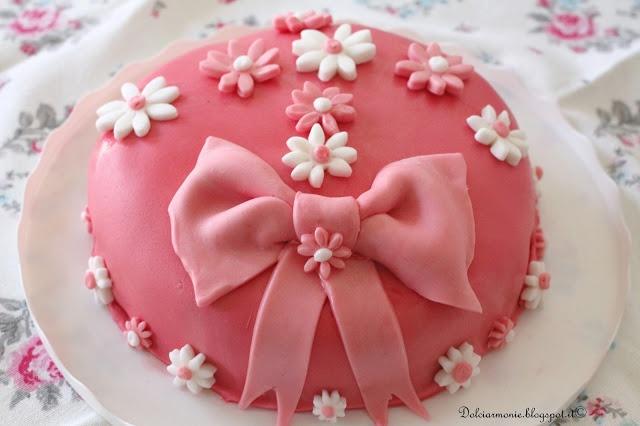 La mia prima torta in PDZ per la mamma