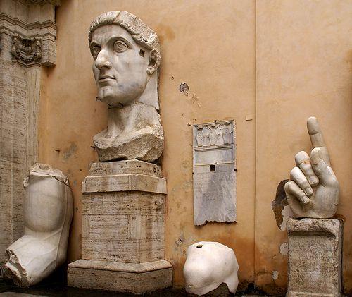 Rom, Kapitolinische Museen, Kaiser Konstantin der Große (Capitoline Museums, Emperor Constantine the Great)