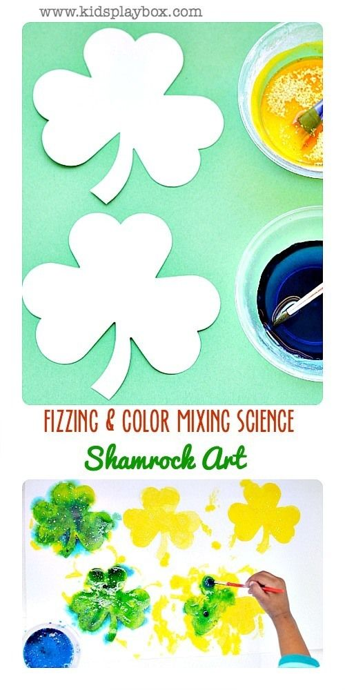 arts and crafts st patrick day poster flag
