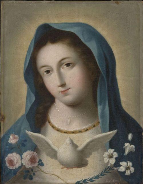 darksilenceinsuburbia:Manuel Caro: The Virgin, c.1781