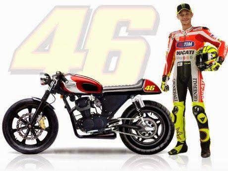 AuoModifer: Modifikasi motor CB ala Rossi