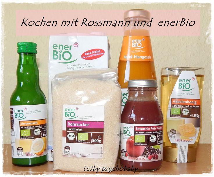 Pzycho Babys kleine Welt: Kochen mit Rossmann und enerBiO - Quarkmousse mit Fruchtsauce