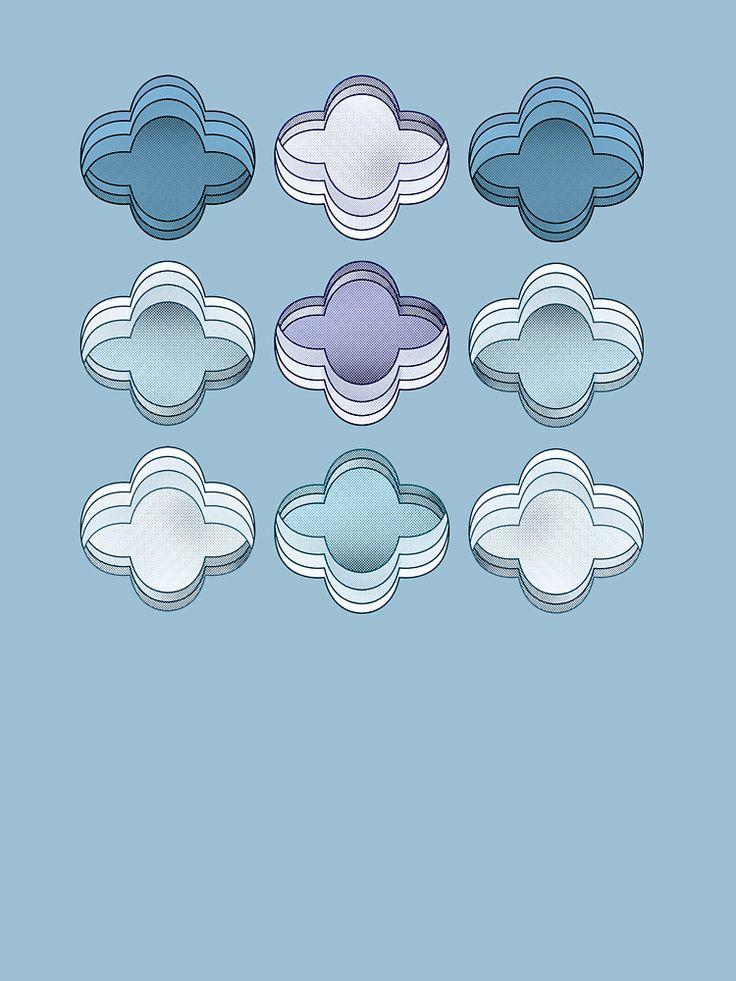 Gradient play #print #pattern @oozefina
