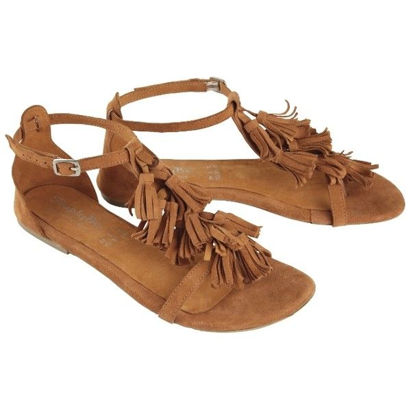 """""""Joe Browns"""" Joe Browns Fringe Sandals, E Fit at Simply Be ($32) ❤ liked on Polyvore featuring shoes, sandals, fringe shoes, joe browns shoes, joe browns and fringe sandals"""