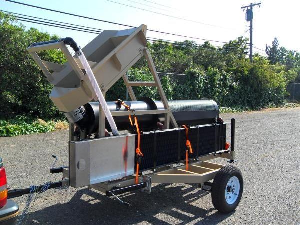 portable gold trommel heckler fabrication