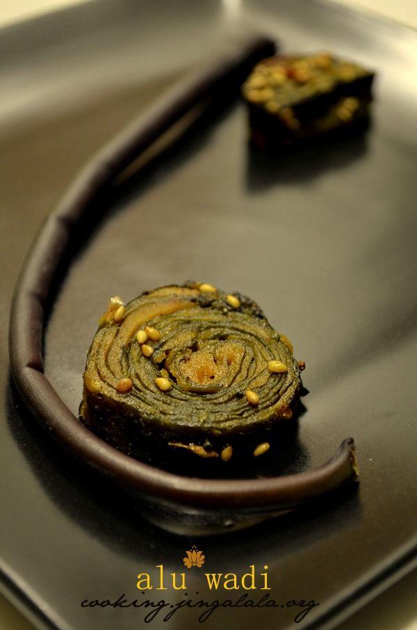 Konkani Patrode or Alu Vadi Recipe | Indian Mangalorean recipes