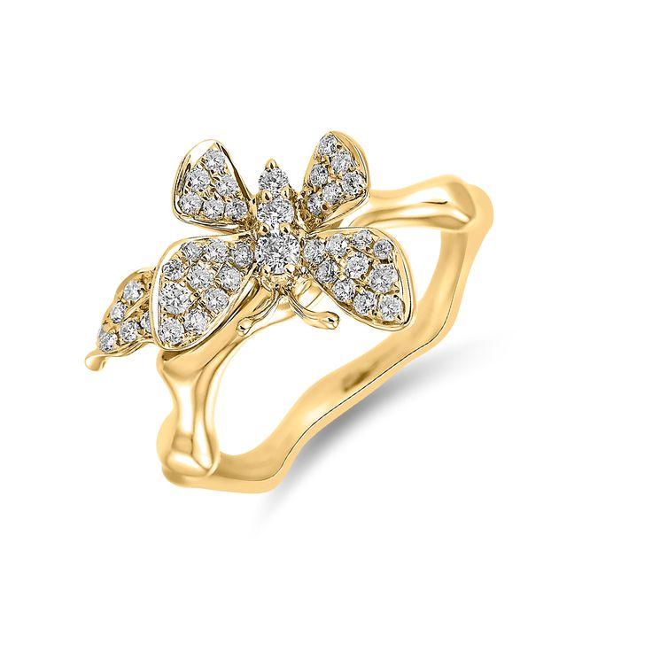 Ring ALO Sunshine Wings www.alodiamonds.com www.alo.cz