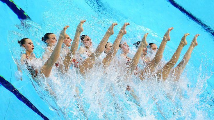 cool Синхронное плавание — Команда России на олимпиаде в Рио 2016