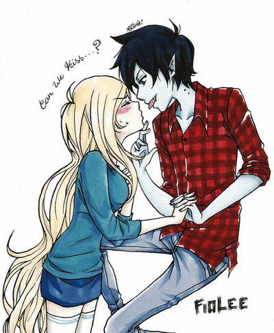 Puedo tener un beso?? Marshall~