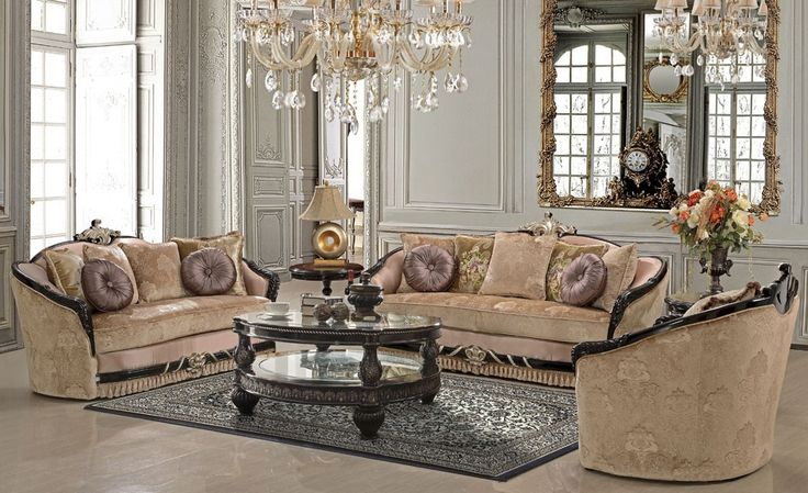 Billarga classic style sofa collection fabric sofas for Classic furniture los angeles