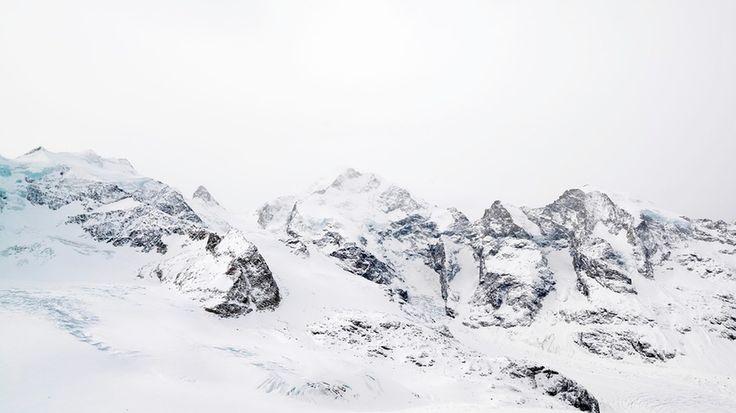 Piz Bernina by Röbi Bösch