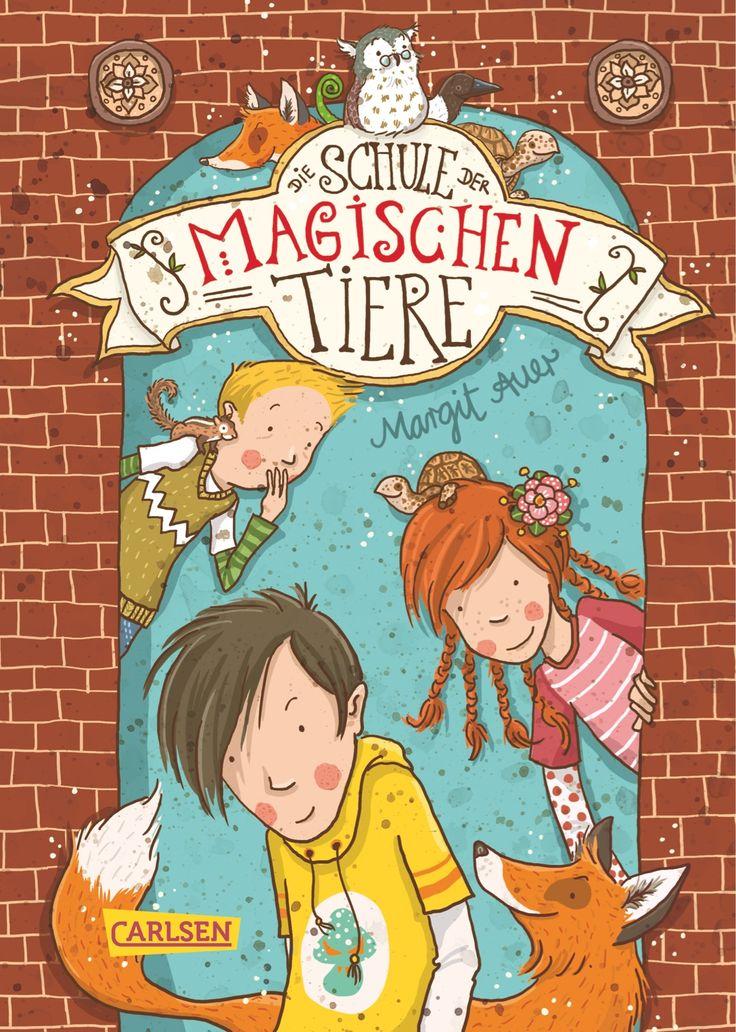 Die Schule der magischen Tiere (Margit Auer), ab 7 Jahre. Eher für Mädchen. Weitere Bände erhältlich.