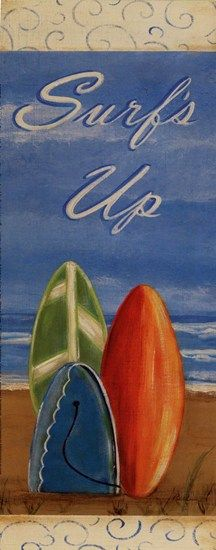 Surf's Up by Grace Pullen art print