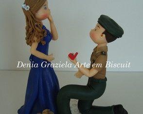 Noivo Militar - Pedido de Casamento
