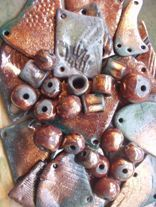 raku komponenty na šperky