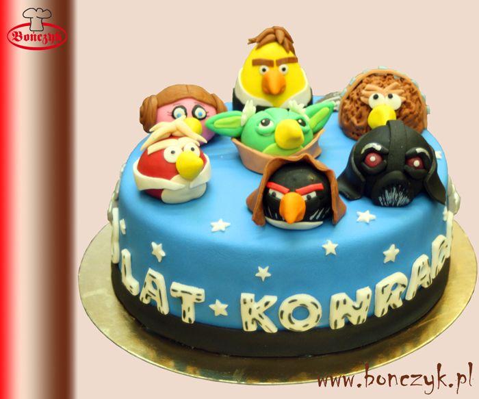#StarWars; #Angrybirds; #cake; #tort; www.bonczyk.pl