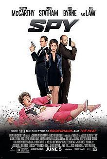 Spy (2015) Say what you want about the feminization of Hollywood, Feig and McCarthy have left the madcap slapstick of their previous partnerships behind to pull off a damned good spy thriller. For some reason, it reminded me of the Goldie Hawn/Chevy Chase films of the 70s... Only here, McCarthy's sparring partner is the spectacularly bitchy Rose Byrne. (Oo - And Miranda Hart!!)