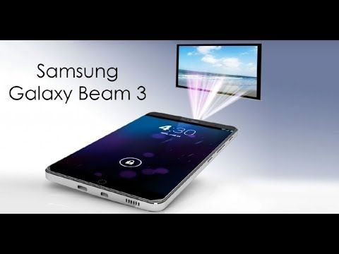 1d06801446c Samsung Galaxy BEAM 3 Review 2017 - Built-in Projector Smartphone I Feat.