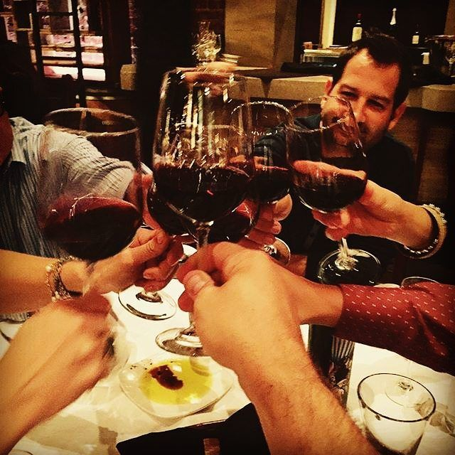 Cheers! Let's our weekend begin! #nemea #nemeanwines #greece #greekway #agiorgitiko