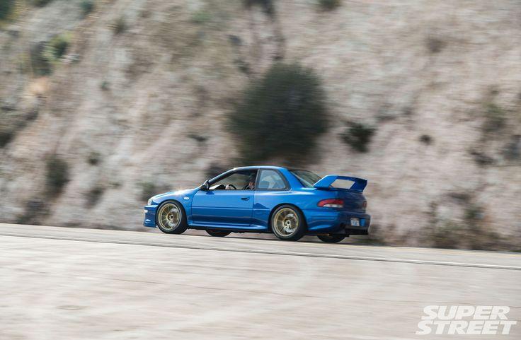 1998 subaru impreza RS aerosim WRC widebody aero kit 13