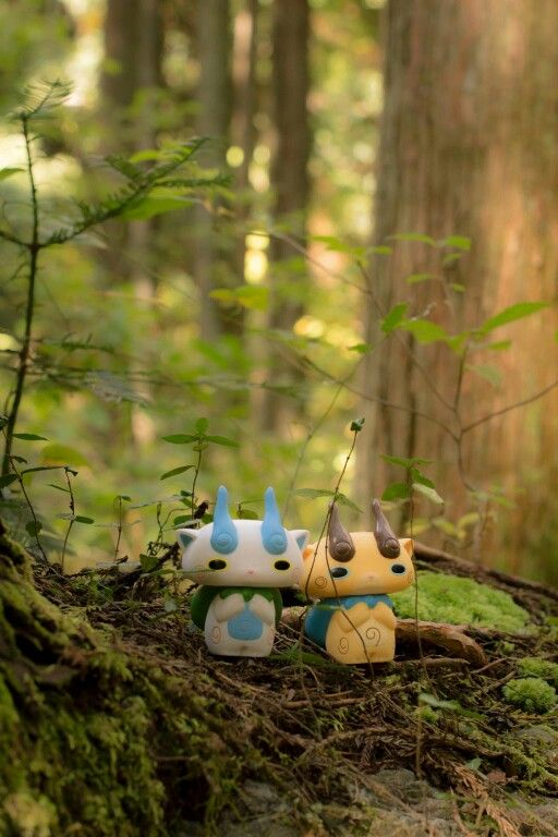 Forest Fairies - Komasan & Komajiroof YO-KAI WATCH