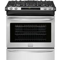 Cuisinière à gaz encastrable autonettoyante, 4,5pi.cube, acier inoxydable - FGGS3065PF...