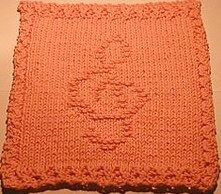 Knit Dishcloth Pattern. This is what Ive been waiting for!!! A TREABLE CLEFF!!!!!!!