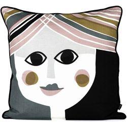 stijlvol zijden kussen - mrs cushion