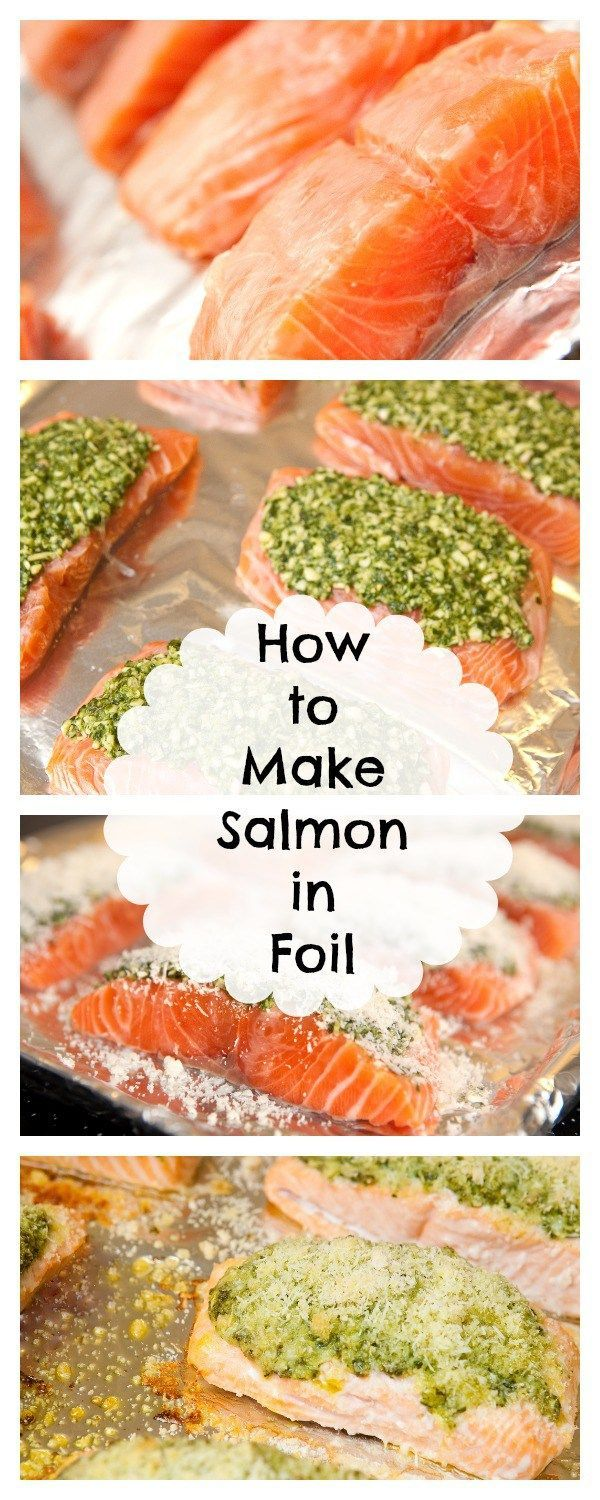 Healthy Grilled Salmon Recipe: Baked in Foil