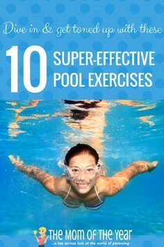Need to tone and tighten up, but rough workouts too hard on your body? Try this total body pool workout to get fit and firm with low-impact, yet super-effective calorie-blasting exercises! I would never though about using a pool noodle for this!