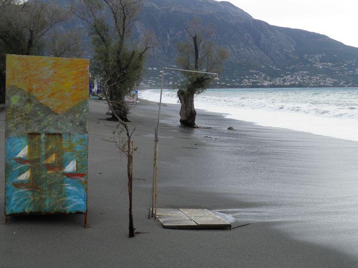 Παραλία Καλαμάτας Δεκ.2013