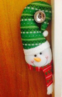 arreglos de navidad para puertas y ventanas