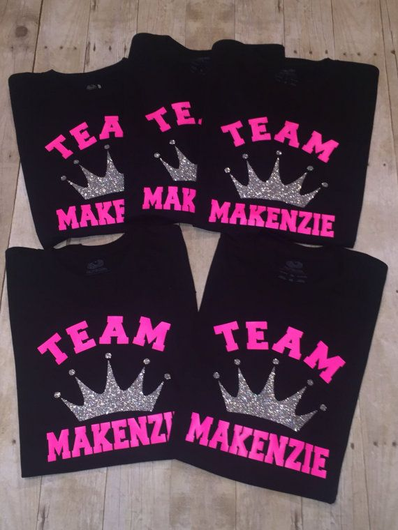 Pageant Team Crown Queen Shirt Beauty Pageant Women or by llsocia