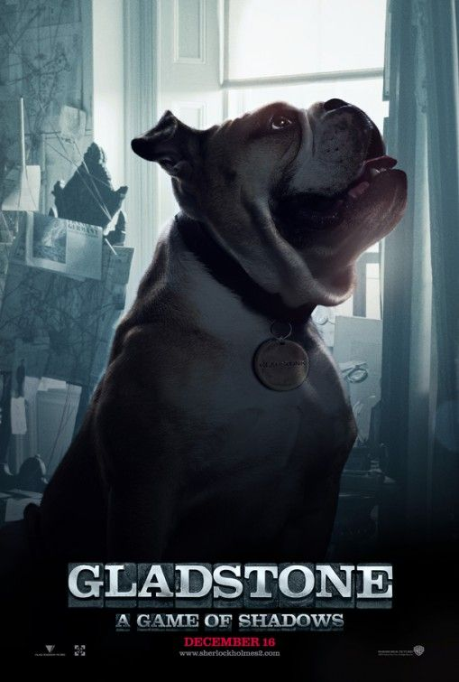 Gladstone got his own poster! Sherlock Holmes: A Game of Shadows (2011)