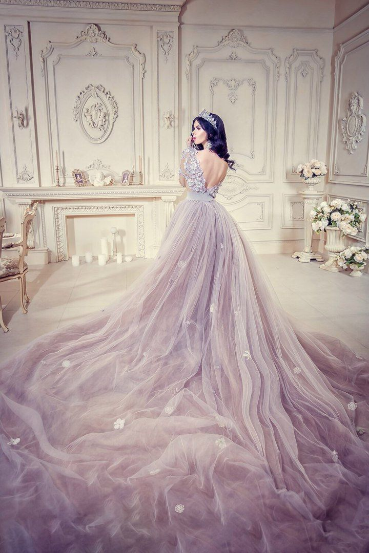 Alternative Wedding Dress Fairy Wedding Dress Color Wedding Etsy Alternative Wedding Dresses Ball Gown Wedding Dress Grey Wedding Dress