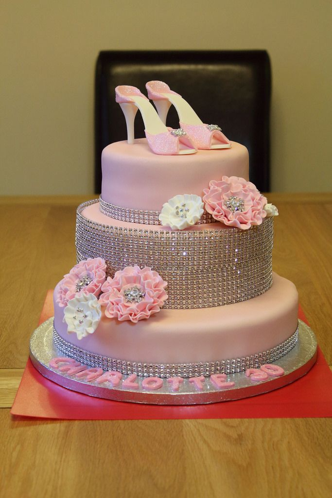 Elegant Picture 30th Birthday Cakes For Career Woman With A Pink