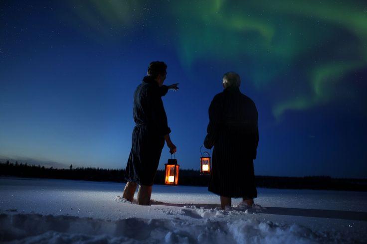 Passa un Capodanno unico, alla ricerca dell'aurora boreale in Lapponia! Viaggio di gruppo, con accompagnatore #svezia #finlandia #inverno2017 #capodanno2017 #aurora #viaggiodigruppo #leviedelnord