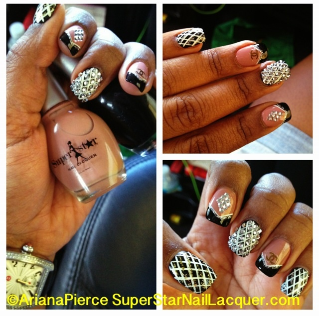 superstar nail art