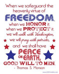 Image result for lds quotes on freedom
