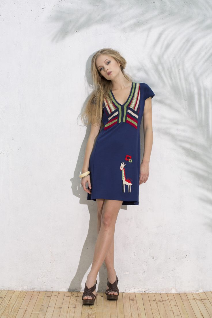 Vestido Barrita #vestidojirafa #giraffedress