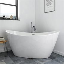 orbit corner modern free standing bath 1270 x 1270mm