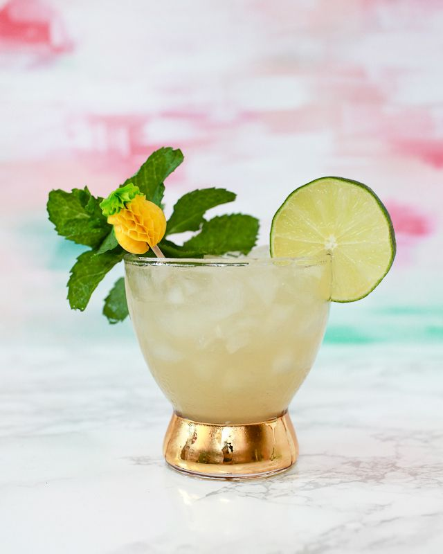 The Best Cocktails of 2015: Classic Mai Tai Tiki Cocktail Recipe by Liquorary for Oh So Beautiful Paper