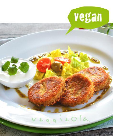 veggieola: Klopsy z czerwonej soczewicy i gotowanych ziemniaków